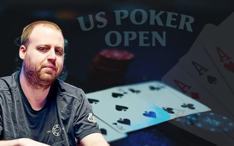 Joe Mckeehen Top Contender for US Poker Open Title
